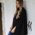 Chic Black Cape