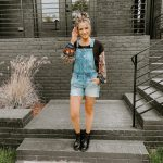 Tribal Prints + Overalls