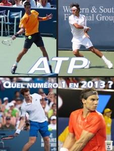 ATP : Qui sera numéro 1 en 2013 ?
