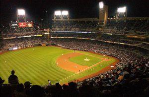 Un terrain de baseball aux US