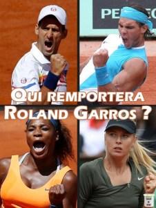 Les grands favoris de Roland Garros 2013