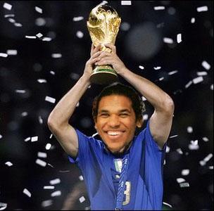 Brandao avec la Coupe du Monde
