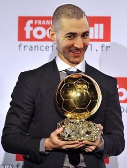 Karim Benzema Ballon d'or 2014