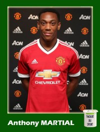 Anthony Martial Panini