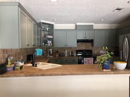 De keuken...