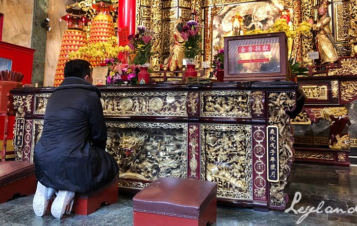 Reflections and Introspections at the Sun Moon Lake Wen Wu Temple
