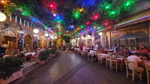 taverna athens nights