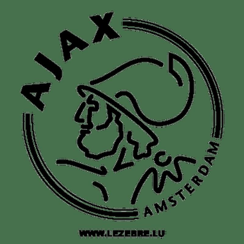 Ajax Amsterdam Fc Logo Sticker