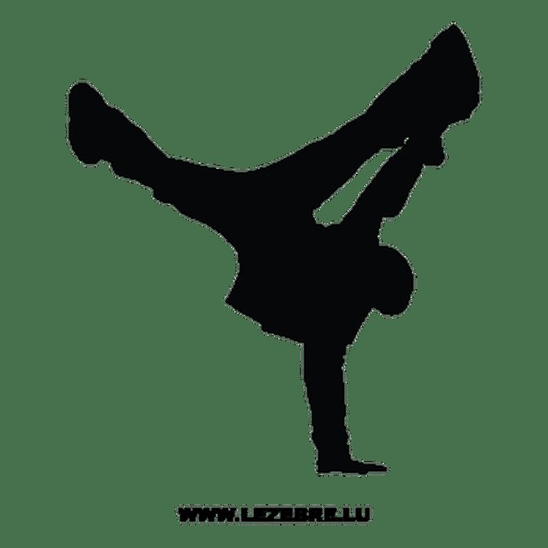 Sticker Danseur Breakdance