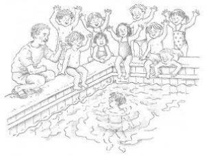 Kinderboek Morgen Mag Ik In Het Diepe 1990 Lezen Over