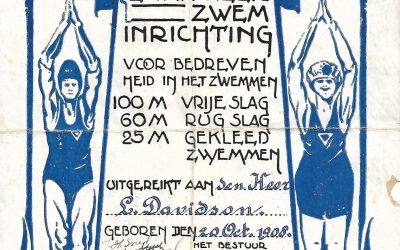 Diploma – Enkhuizer Zweminrichting (1926)