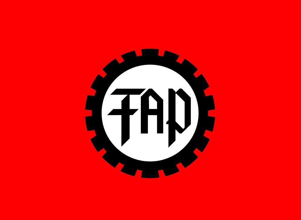 Drapeau du Freiheitliche Deutsche Arbeiterpartei