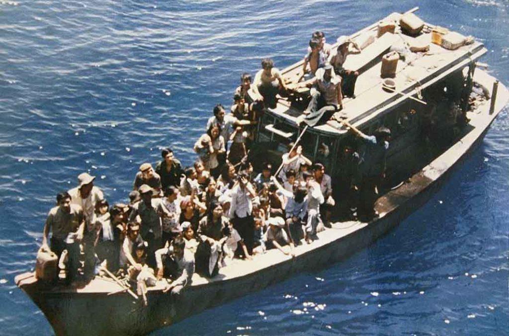 Crédit : Le monument des boat people vietnamiens