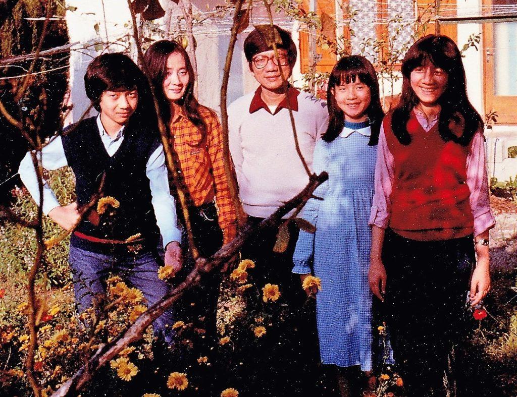 La famille Hua, en août 1981