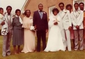 mariage de Ray West (photo enjaquette de l'abum Life of Pablo