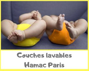 Couches lavables Hamac Paris