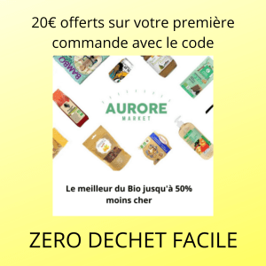 code réduction aurore market
