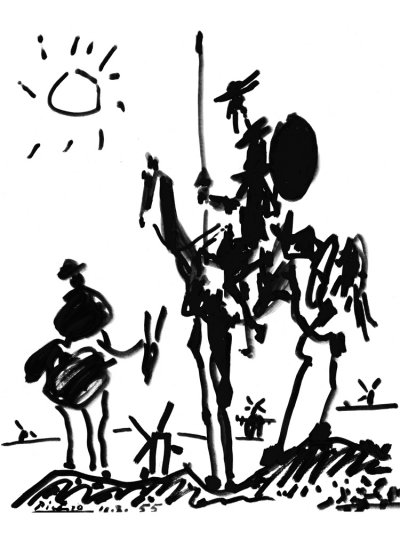 Sancho Panza & Don Quichot