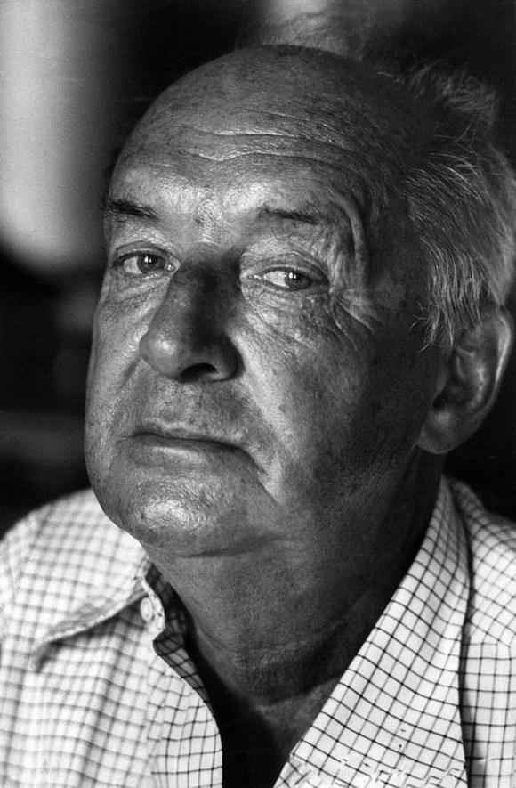 Vladimir Nabokov in 1973