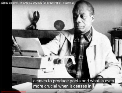 James Baldwin - The Artist's Struggle for Integrity (Full Recording) (4:32-5:04)