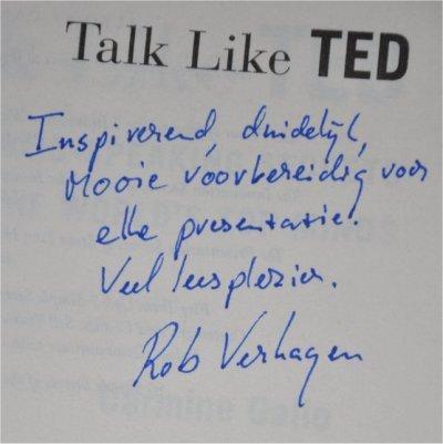 Carmine Gallo. Talk like TED