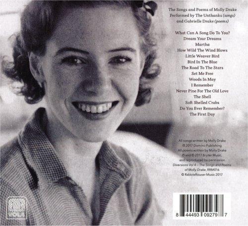 Achterkant van de cd Diversions : vol. 4