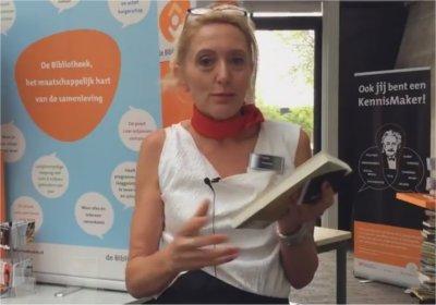 De eerste deelnemer wilde graag iets over 'haar' boek vertellen