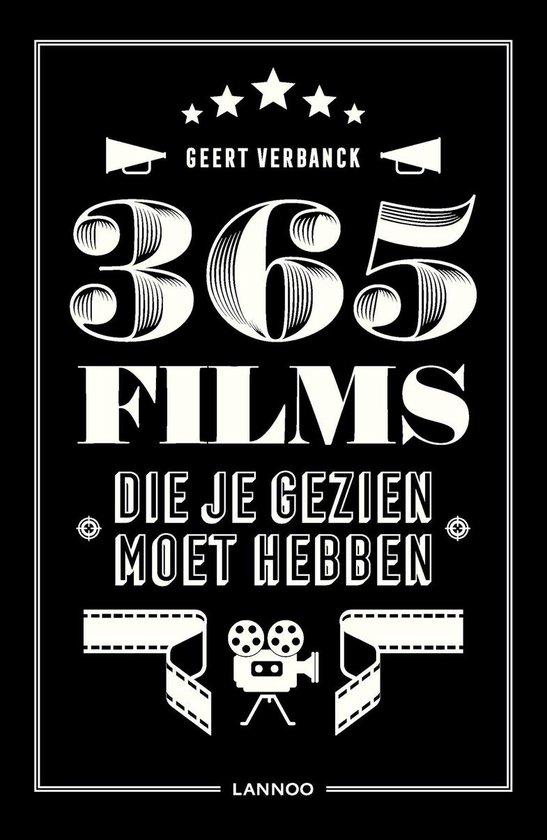 bol.com | 365 films die je gezien moet hebben, Geert Verbanck ...