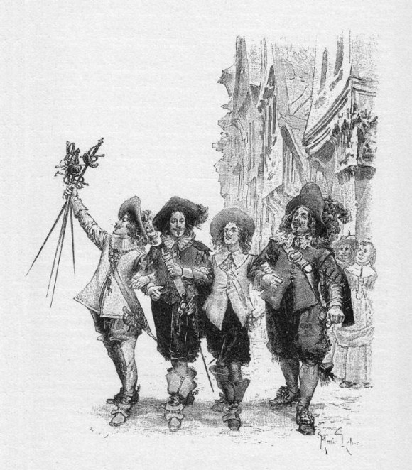 De drie musketiers - Wikipedia
