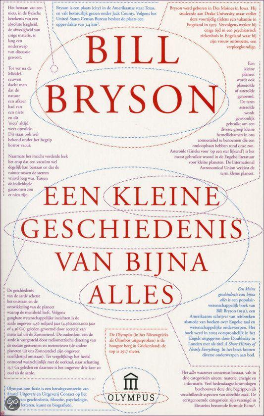 Kleine geschiedenis van bijna alles, Bill Bryson | 9789046703151 |  Boeken... | Geschiedenis, Wetenschappelijke boeken, Boeken