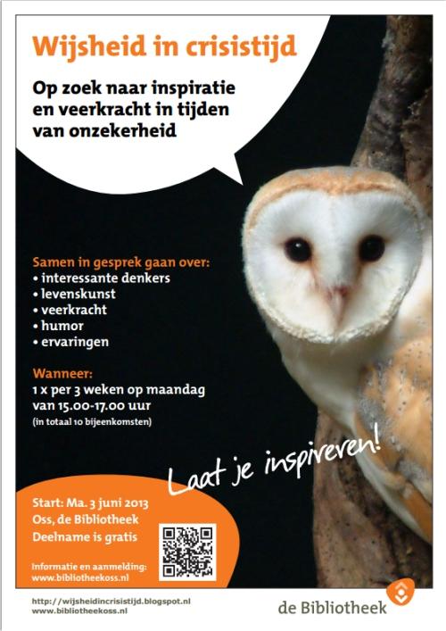 Wijsheid in crisistijd - Noord Oost Brabantse Bibliotheken