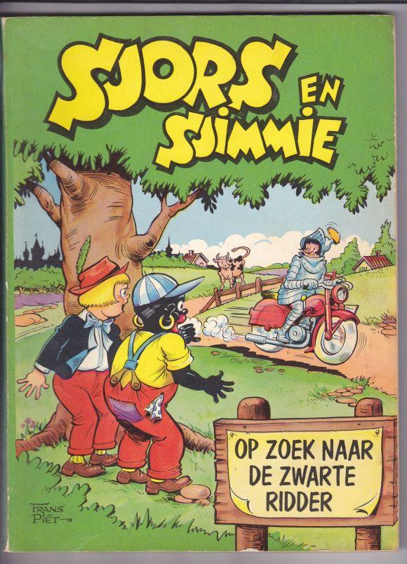 Sjors en Sjimmie op zoek naar de zwarte ridder. | Stripboeken,  Stripverhalen, Jeugdherinneringen