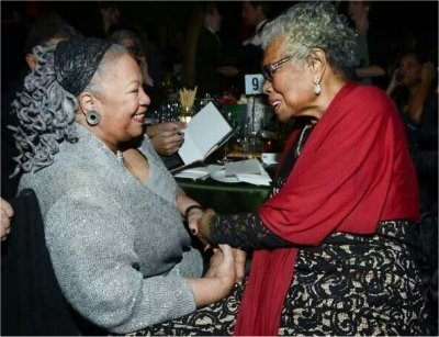 Toni Morrison & Maya Angelou