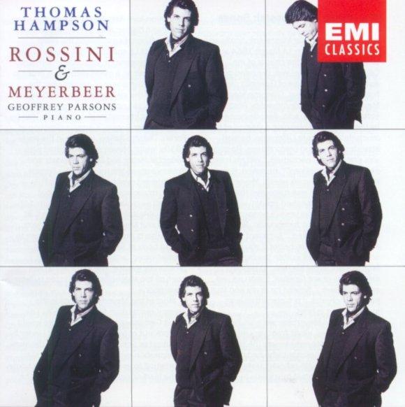 Thomas Hampson, Gioachino Rossini, Giacomo Meyerbeer, Geoffrey Parsons - Thomas  Hampson: Rossini & Meyerbeer Songs - Amazon.com Music