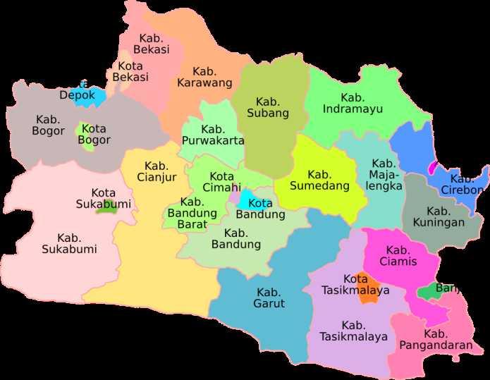 Peta Buta Bandung