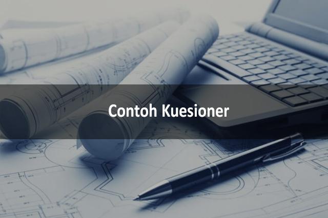 Contoh Kuesioner