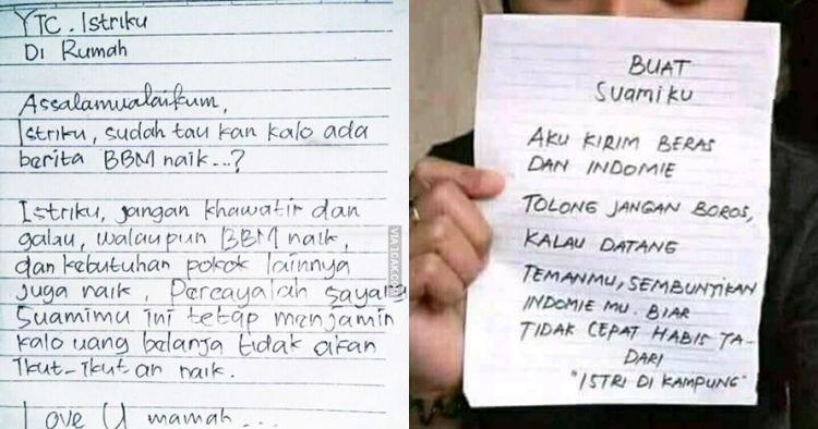 Contoh Surat Cinta Kepada Kekasih