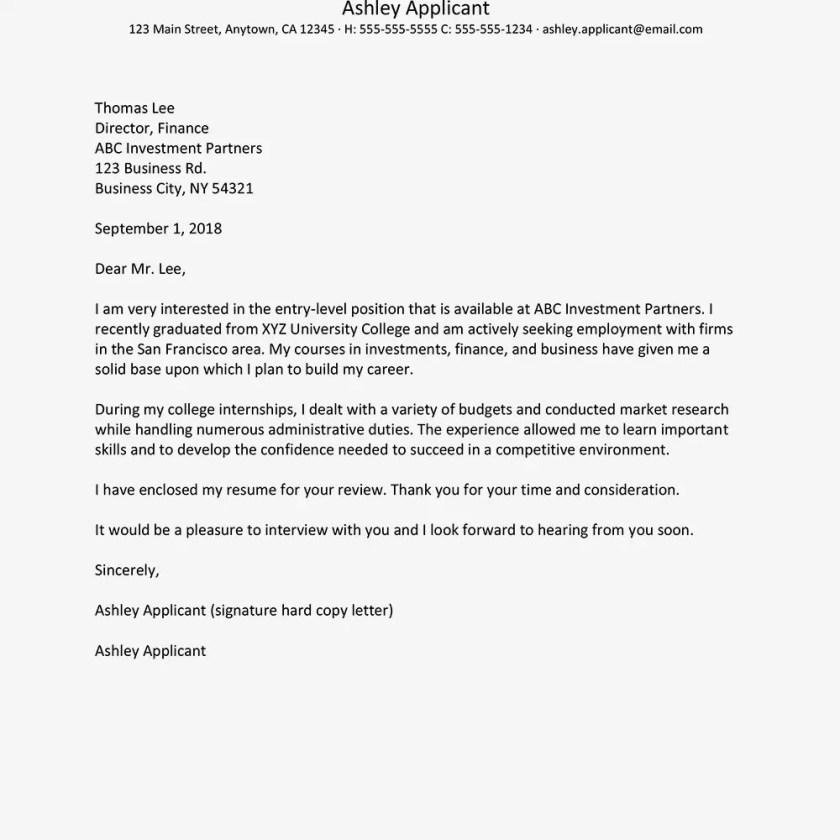 Contoh Surat Lamaran Kerja Bahasa Inggris Untuk Staff Keuangan 1