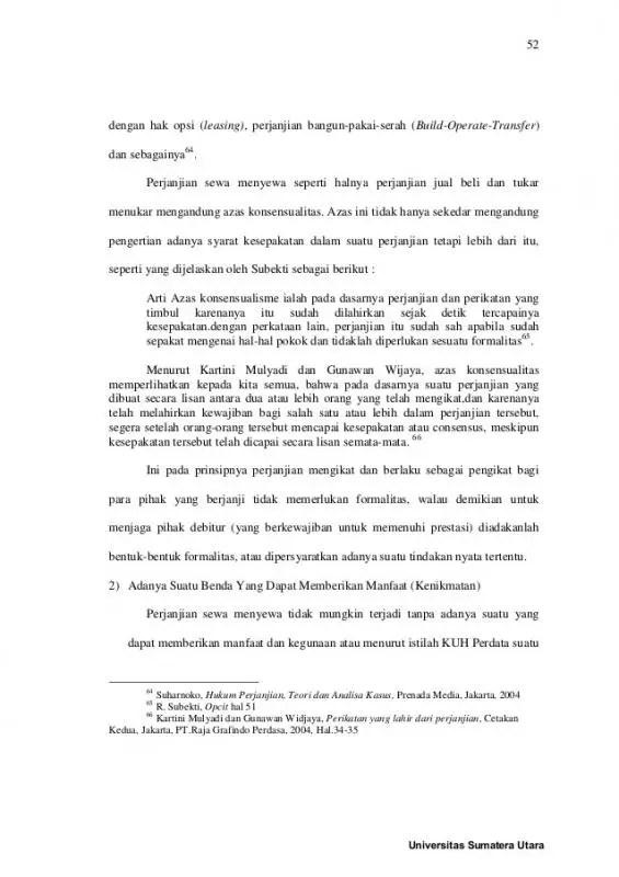 Contoh Surat Perjanjian Sewa Tempat Usaha Over Kontrak Bagian Isi