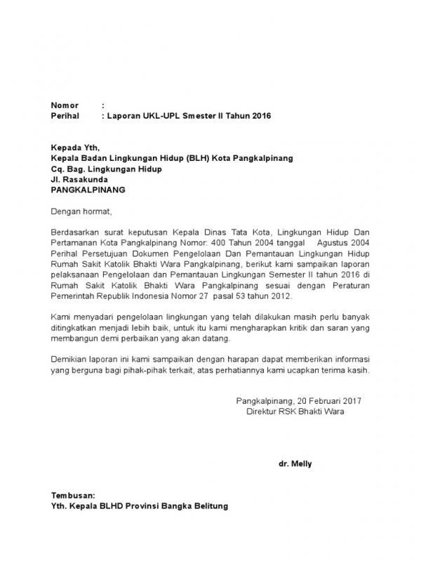 Contoh Surat Permohonan Dinas Lingkungan Sosial