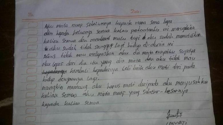 Contoh Surat Permohonan Maaf Kepada Orangtua