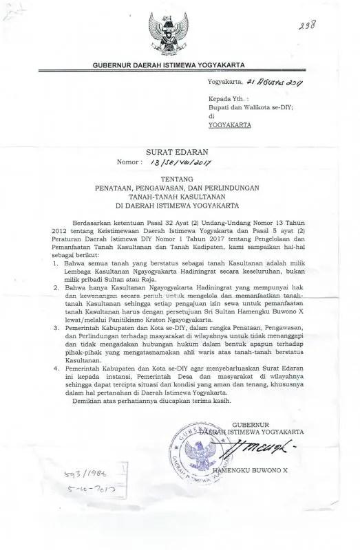 Surat Edaran Resmi Gubernur Scaled