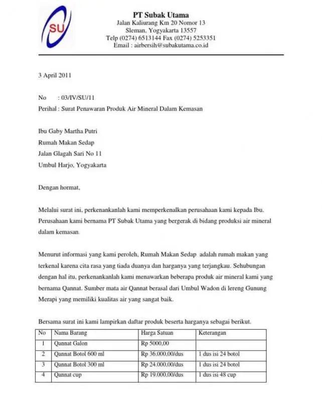 Surat Penawaran Harga Bahan Baku Garment E1603765565405