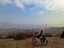 Поглед кон Скопје од Кучково