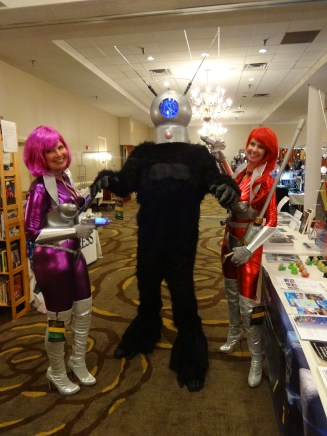 Aliens Invading Galaxy's Edge Table—Ravencon (Williamsburg, Virginia)