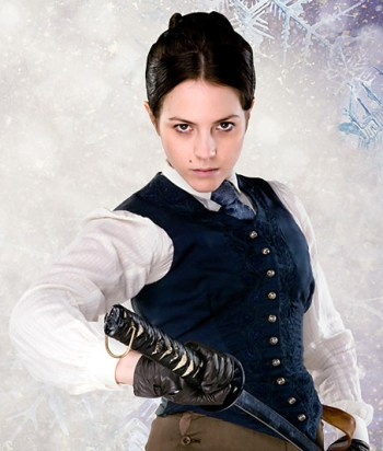 Jenny Flint - Swordfighting Victorian maid who marries a lizard woman, Jenny Flint is a throughly modern lesbian in the 19th century.