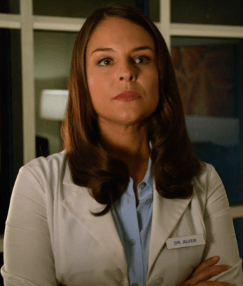 Luisa Alver - Lesbian OB/GYN who accidentally inseminates Jane with her own brother Rafael's sperm and makes her become a pregnant virgin. She also has an ongoing relationship with her and Rafael's step mother, Rose.