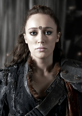 A picture of the character Lexa - Years: 2014, 2015, 2016