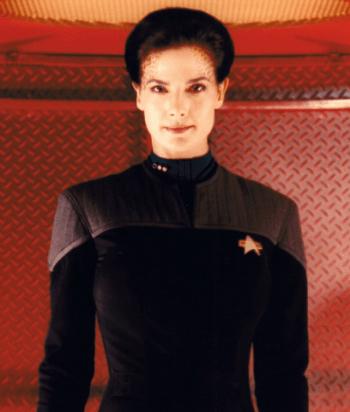 A picture of the character Jadzia Dax - Years: 1993, 1994, 1995, 1996, 1997, 1998