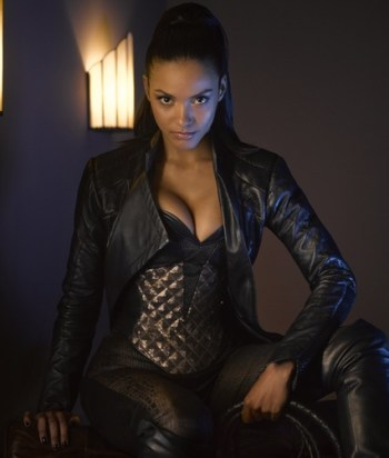 Tigress - AKA TabithaGalavan. She's a villain. As of season three, she owns a bar with Barbara and they're ... together.